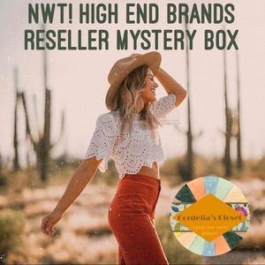 NWT! HIGH END BRANDS RESELLER MYSTERY BOX